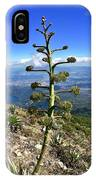 Plant On Volcano Slope IPhone Case
