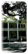 Plantation Framed By Live Oaks IPhone Case