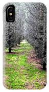 Planted Spruce Forest IPhone Case