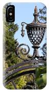Planting Fields Gate IPhone Case