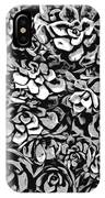 Plants Of Black And White IPhone Case