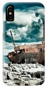 Plassey Wreck IPhone Case