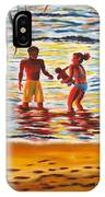 Play Day At Jobos Beach IPhone X Case