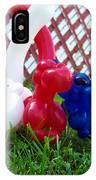 Playful Balloon Monkeys IPhone Case