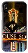 Playhouse Square Up Close IPhone Case