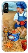 Playtime At The Beach IPhone Case