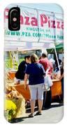 Plaza Pizza IPhone Case