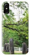 Pleasant Forest Cemetery IPhone Case