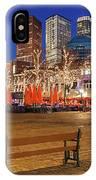 Plein Square At Night - The Hague IPhone Case