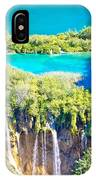 Plitvice Lakes National Park Vertical View IPhone Case