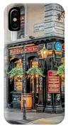 Plough Pub London IPhone Case by Adrian Evans
