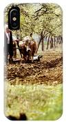 Ploughing In The Orchard IPhone Case