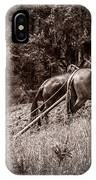 Plowman And Team Of Horses IPhone Case