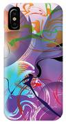 Plum Dance IPhone Case