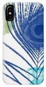 Plumage 3- Art By Linda Woods IPhone Case by Linda Woods