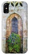 Plumergat, Brittany,france, Parish Church Window IPhone Case