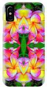 Plumeria Art IPhone Case