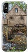 Plymouth Grist Mill IPhone Case