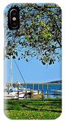 Plymouth Harbor IPhone Case