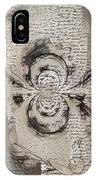 Poem IPhone Case