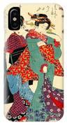 Poet Komachi 1818 IPhone Case