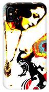Poetic Peacock IPhone Case