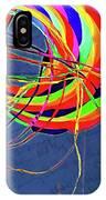 Poetry Of Kite Swirls IPhone Case