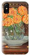Poetry Of Roses IPhone Case