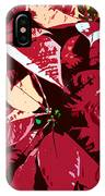 Poinsettia's Work Number 7 IPhone Case