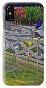 Point Clear Bridge At Grand Hotel IPhone Case