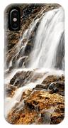 Point Lace Falls 1 IPhone Case