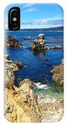 Point Lobos Whalers Cove- Seascape Art IPhone Case