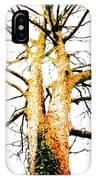 Pointillised Tree IPhone Case