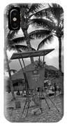Pokai Bay Beach Park IPhone Case