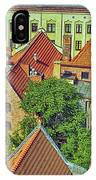 Poland, Torun, Houses. IPhone Case