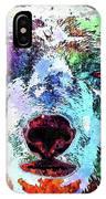 Polar Bear Colored Grunge IPhone Case