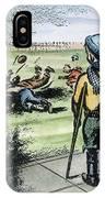 Polio Cartoon, 1957 IPhone Case