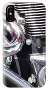 Polished Motorcycle Chrome IPhone Case