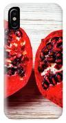 Pomegranate Cut In Half IPhone Case