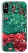 Pomegranates And Crabapples IPhone Case