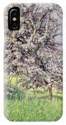 Pommiers Fleuris IPhone Case