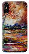 Pond 671254 IPhone Case