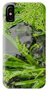 Pond Abstract I IPhone Case
