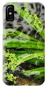 Pond Abstract II IPhone Case