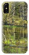 Pond In The Undergrowth. IPhone Case
