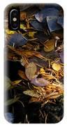 pond leaves RIV M 23 IPhone Case