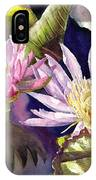 Pond Lilies IPhone Case
