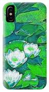 Pond Lily 2 IPhone Case