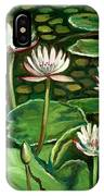 Pond Of Petals IPhone Case