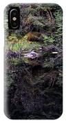 Pond Reflections -- Tongass National Forest Alaska IPhone Case